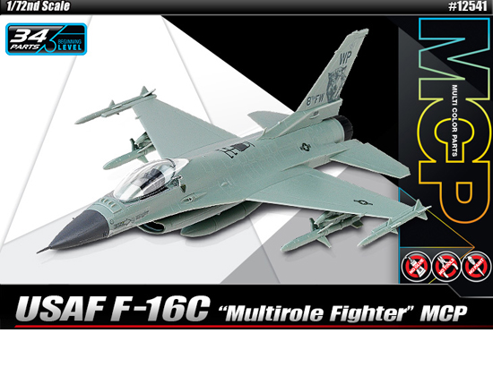 Maquette Academy 12541 USAF F-16C MCP