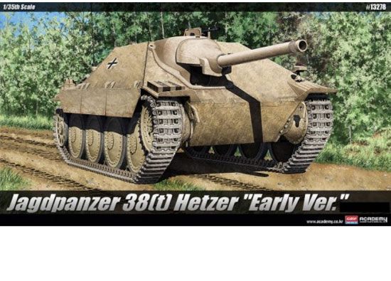 Maquette Academy 13278 38T Hetzer Early