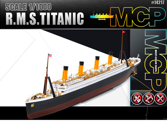 Maquette Academy 14217 RMS TITANIC 1/1000