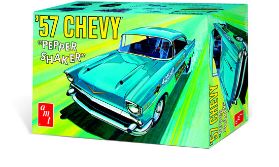 Maquette AMT 1079 Chevy Pepper Chaker 1957 1/25
