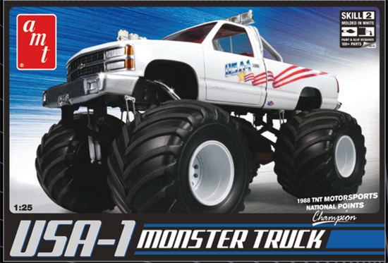 Maquette AMT 632 USA 4x4 Monster Truck 1/25