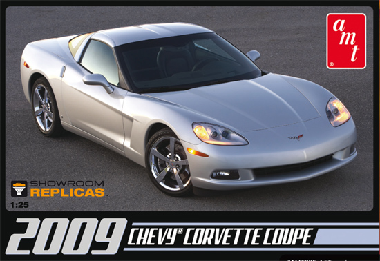 Maquette AMT 685 New Corvette Coupe 2009 1/25