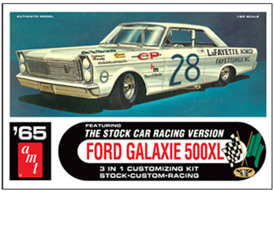 Maquette AMT 723 Ford Galaxie Stock Car 1/25