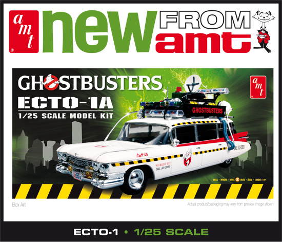 Maquette AMT 750 Ghosbuster Ecto-1 1/25