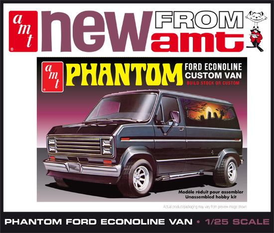 Maquette AMT 767 Ford Custom Phantom 1/25