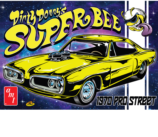 Maquette AMT 806 Super Bee Dirty Donny 1/25