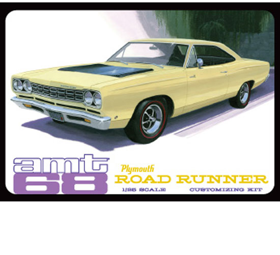 Maquette AMT 821 Plymouth Roadrunner 1/25