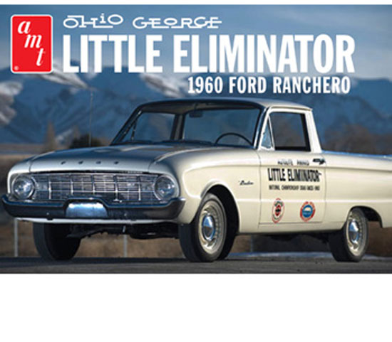 Maquette AMT 822 Ford Ranchero Ohio 1/25