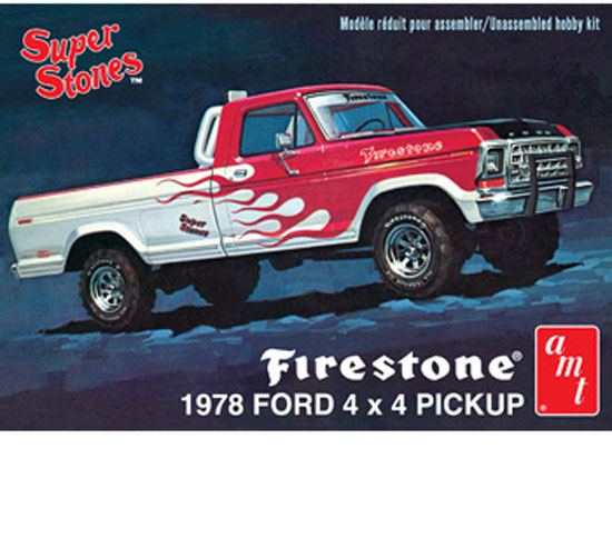 Maquette AMT 858 Ford Pick Up 1978 1/25