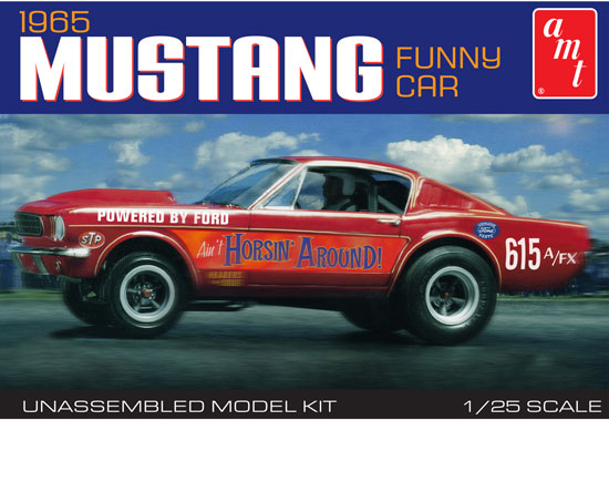 Maquette AMT 888 Ford Mustang Funny 1965 1/25