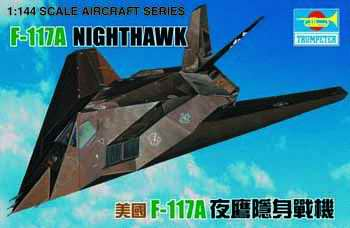 Maquette Trumpeter 01330 F-117A NIGHTHAWK