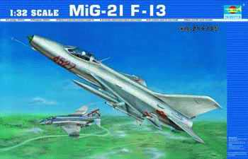 Maquette Trumpeter 02210 MiG-21 F-13
