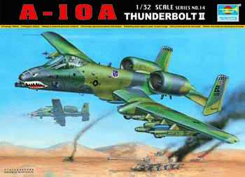 Maquette Trumpeter 02214 A-10A THUNDERBOLT