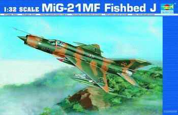 Maquette Trumpeter 02218 MiG-21MF Fishbed J