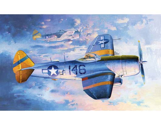 Maquette Trumpeter 02265 P-47N Thunderbolt