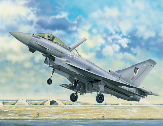 Maquette Trumpeter 02278 EF-2000 Eurofighter Typhoon