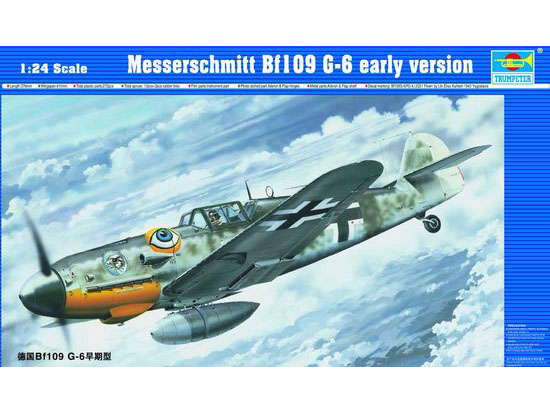 Maquette Trumpeter 02407 Messerschmitt Bf109 G-6 early version