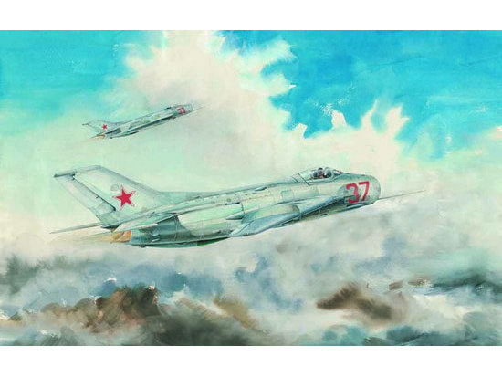 Maquette Trumpeter 02803 Mikoyan-Gurevich MiG-19S Farmer C