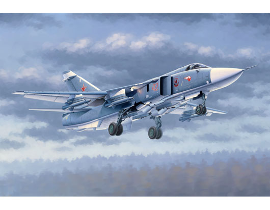 Maquette Trumpeter 02835 Su-24M Fencer-D