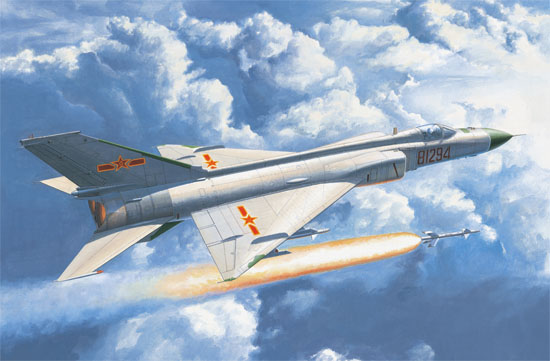 Maquette Trumpeter 02846 Chinese J-8D Finback