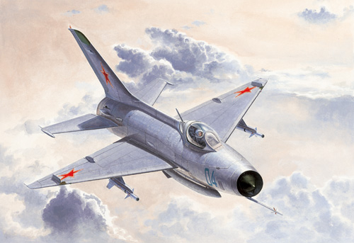 Maquette Trumpeter 02858 MiG-21F-13 Fishbed