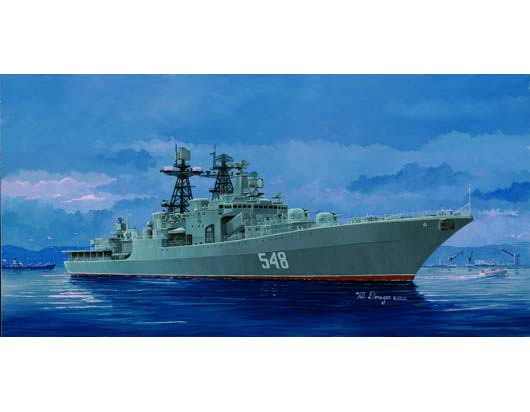 Maquette Trumpeter 04516 RUSSIAN NAVY UDALOY CLASS DESTROYER ADMIRAL PANTELEYEV