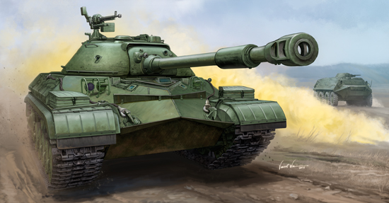 Maquette Trumpeter 05547 Soviet T-10A Heavy Tank