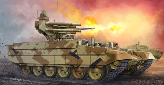 Maquette Trumpeter 05548 Russian Obj.199 Ramka BMPT RAE-2013/2015 2 in 1