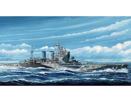Maquette Trumpeter 05765 HMS Renown 1945