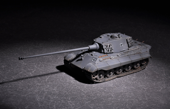 Maquette Trumpeter 07160 German King Tiger (Henschel turret) with 105mm kwk L/65