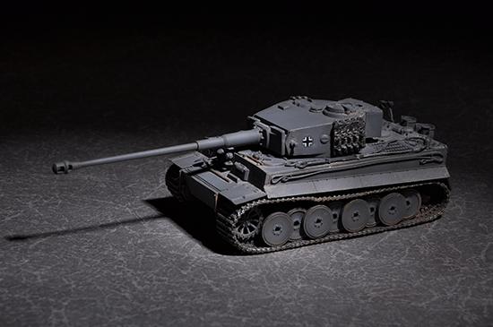 Maquette Trumpeter 07164 German Tiger with 88mm kwk L/71