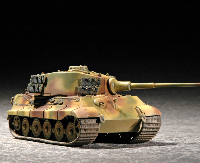 Maquette Trumpeter 07201 German  Sd.Kfz. 182  King Tiger (Henschel turret)