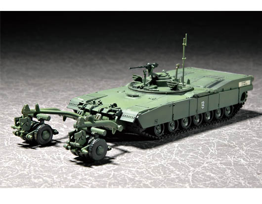 Maquette Trumpeter 07280 M1 Panther II Mine clearing Tank