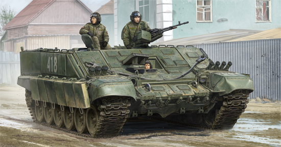 Maquette Trumpeter 09549 Russian BMO-T specialized heavy armored personnel carrier